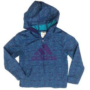 Adidas Zip Front Hoodie 6X